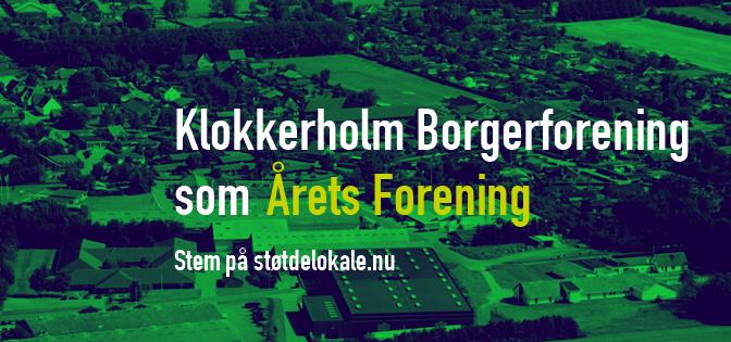 Klokkerholm Borgerforening er nomineret