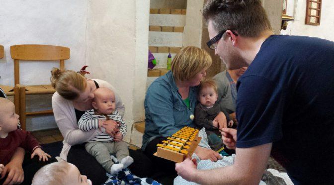Indbydelse til babysalmesang