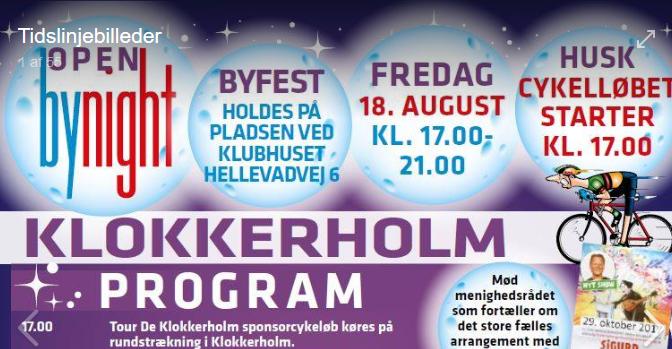 Open by night i Klokkerholm