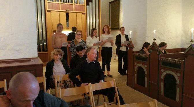 Nye sangere til kirkekoret