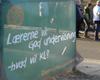 Lockoutede lærere i Klokkerholm