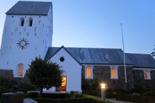 15. august – også i Klokkerholm – Kirken