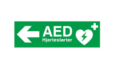 Hjertestarter i Klokkerholm