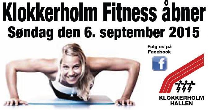 Klokkerholm Fitnesscenter indvies.