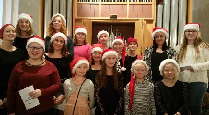Klokkerholm synger julen ind